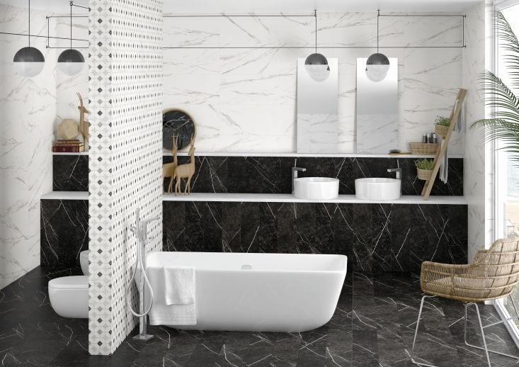 thalassa tiles conveying the spirit of italian marble. Black Bedroom Furniture Sets. Home Design Ideas