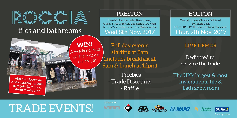 Roccia Trade Events 2017
