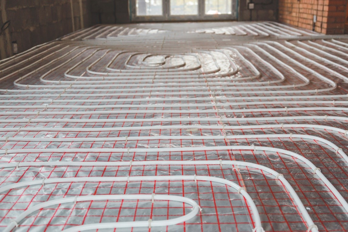 The Advantages of Underfloor Heating