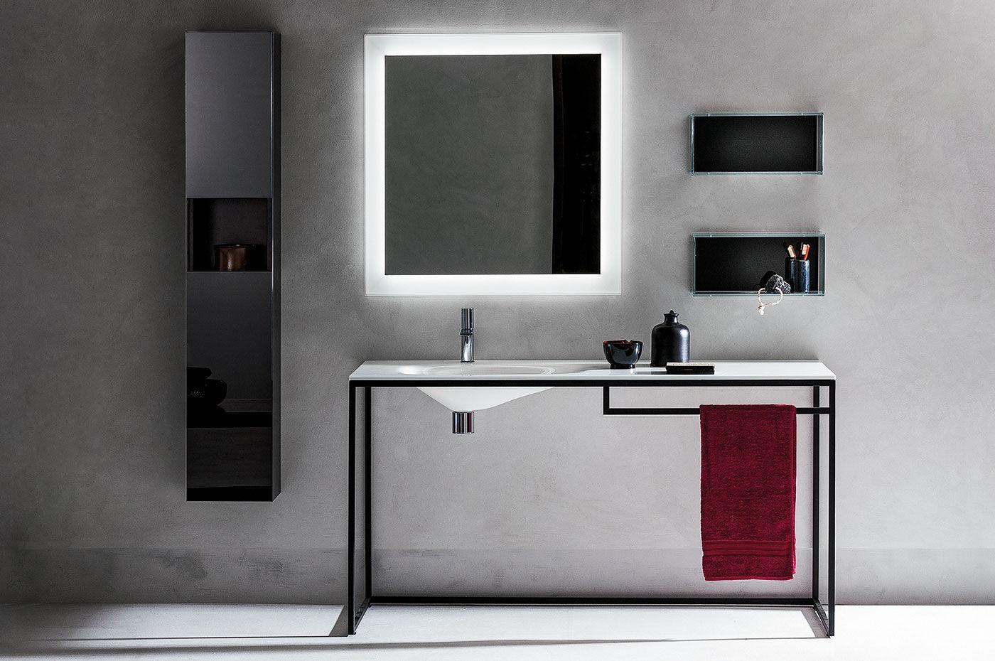 Washbasin stand