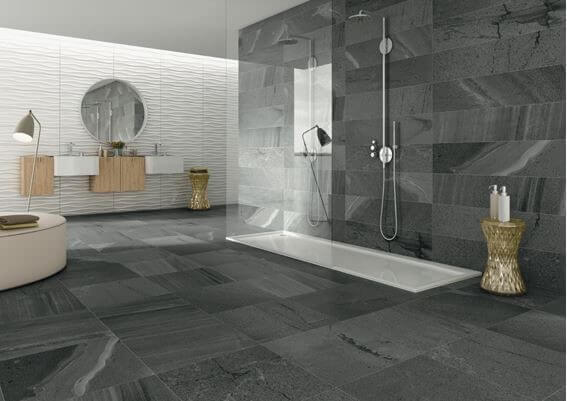 Freshen Up with a Cool Grey Bathroom