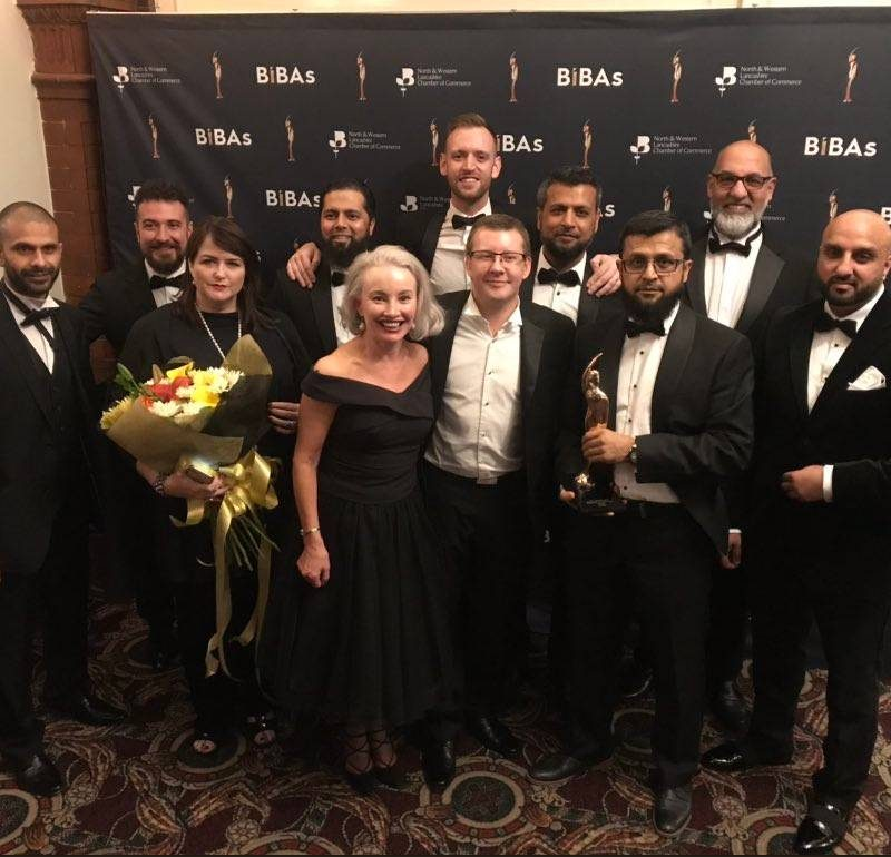 Roccia Scoop North West 'Business of the Year' Award