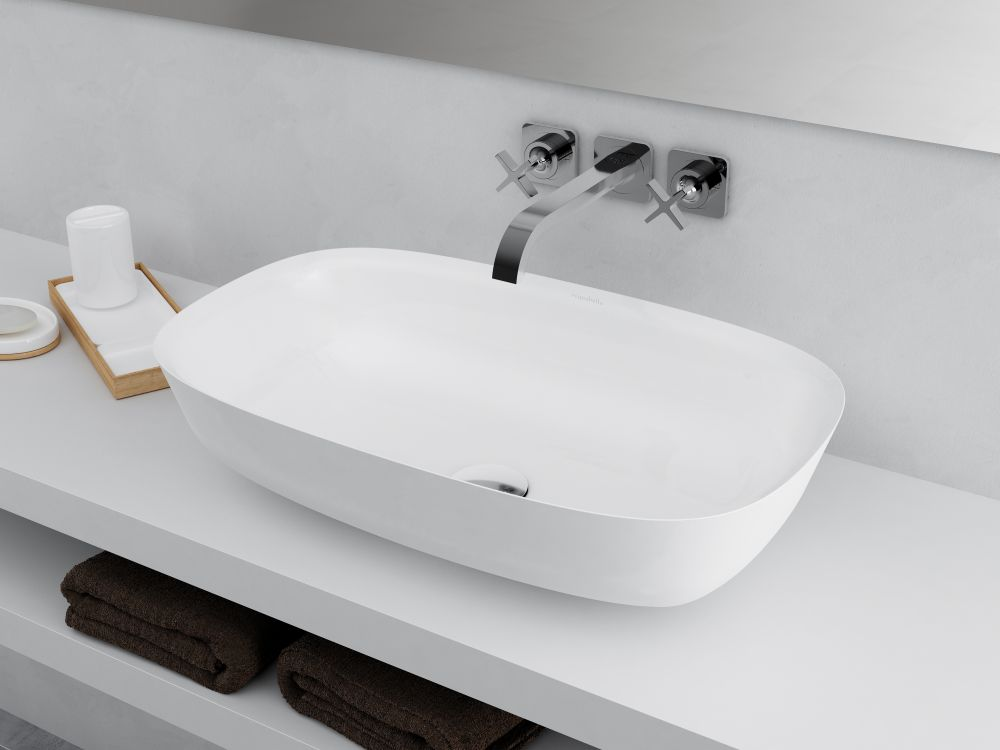Aquabella bathroom sink round
