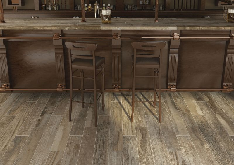 salvage wood effect tiles